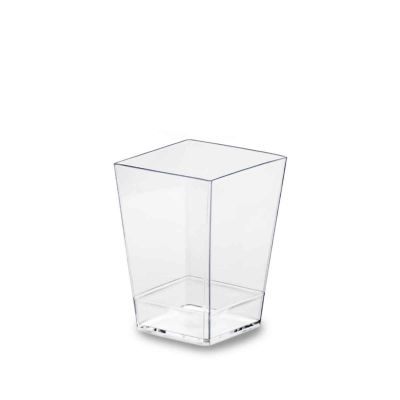 Bicchierini finger food monoporzioni Kubic 60cc trasparente