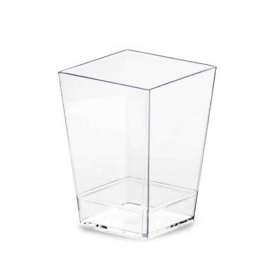 Bicchierini finger food monoporzioni Kubic 120ml trasparente