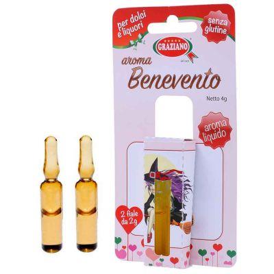 Aroma liquido per dolci gusto Benevento 4g 2 fialette