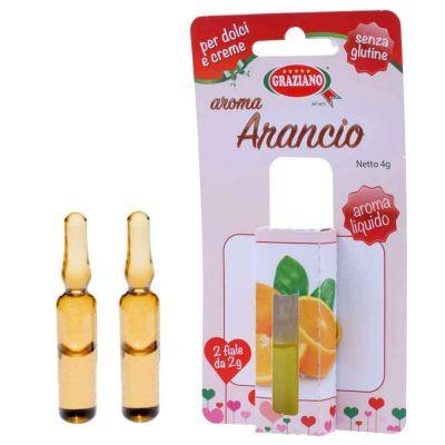 Aroma liquido per dolci gusto Arancio 4g 2 fialette