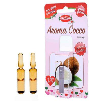 Aroma liquido per dolci gusto Cocco 4g 2 fialette