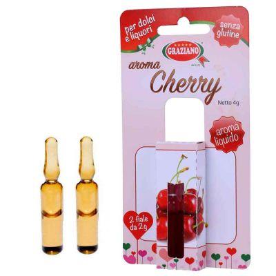 Aroma liquido per dolci gusto Ciliegia 4g 2 fialette