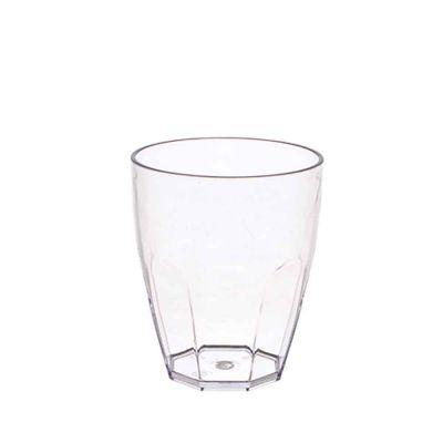 Bicchiere trasparente in policarbonato 355cc Goldplast