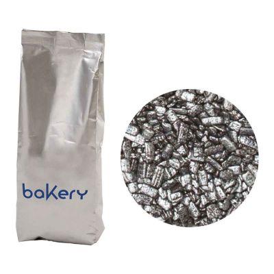 Scaglie di cioccolato Argento per decorazione dolci 1 kg Bakery