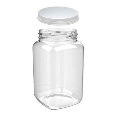 Barattolo jar in plastica dura con tappo 460cc  Goldplast