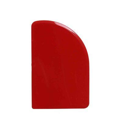 Raschietto taglia pasta Luna plastica rosso 543-R