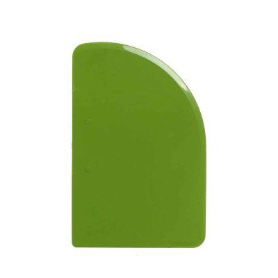 Raschietto taglia pasta Luna plastica verde 543-V