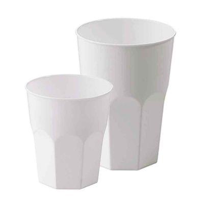 Bicchieri da cocktail polipropilene bianco