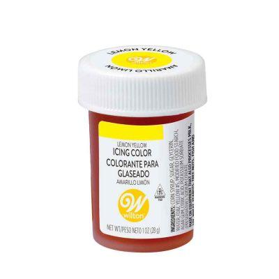 Colorante in gel concentrato per alimenti giallo limone 28 g Wilton
