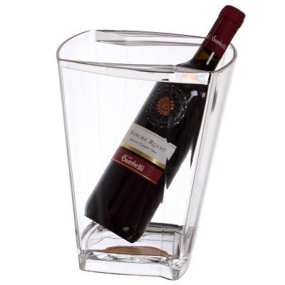 Secchiello per ghiaccio porta bottiglia vino rosso