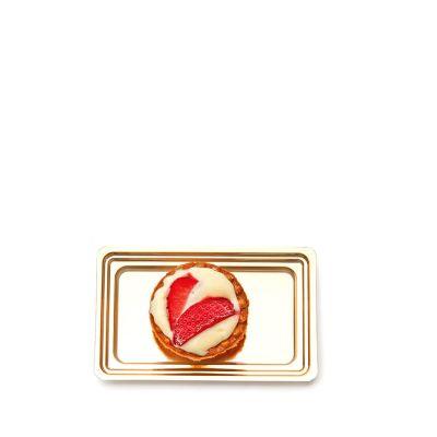 Vassoi finger food monoporzioni dolci Mignon rettangolare con pasticcino