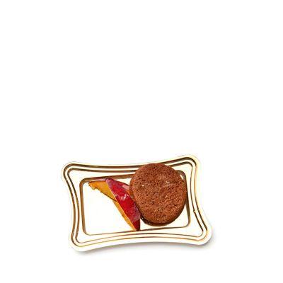 Vassoi finger food monoporzioni dolci Mignon rettangolari con pasticcini