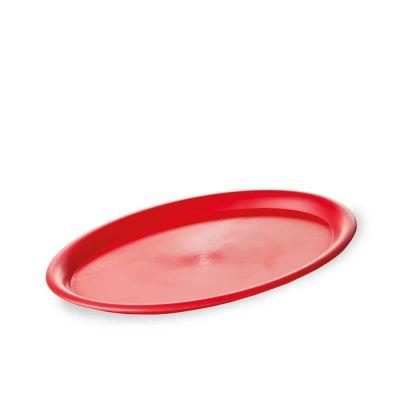 Mini vassoio da servizio rosso 23x17 cm