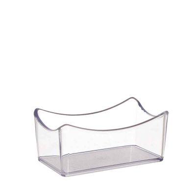 Portazucchero da bar trasparente