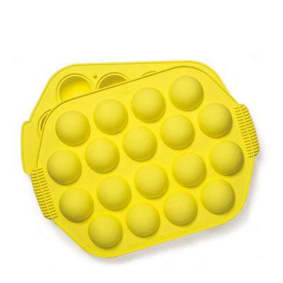 Stampo antiaderente in silicone termico per 18 cake pops Ø4,2 cm Decora