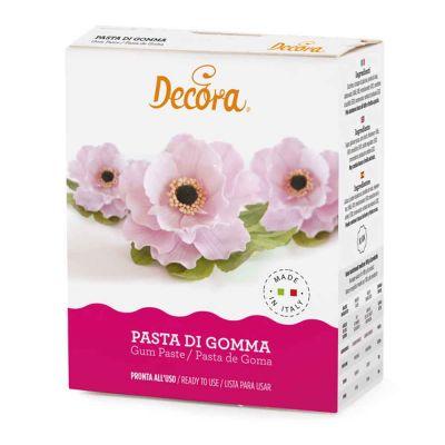 Pasta di gomma per fiori 3D e modelling pronta all'uso 200 g Decora