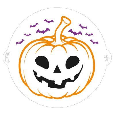 Stencil Zucca Halloween Decora