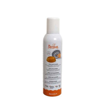 Spray olio staccante per teglie e stampi 250 ml Decora