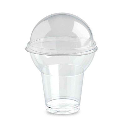 Bicchieri di plastica GoYo con coperchio 260cc