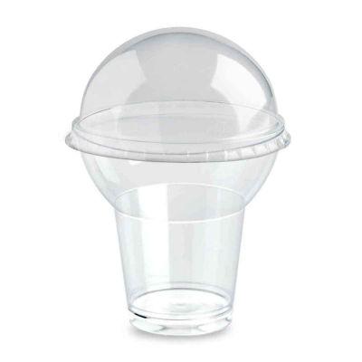 Bicchieri di plastica GoYo con coperchio 360cc