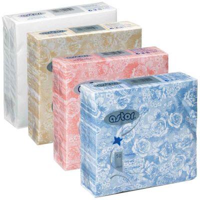 Tovaglioli in tessuto di carta airlaid 40x40 cm decori a scelta