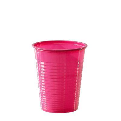 Bicchieri di plastica colorati DOpla Colors 200cc fucsia