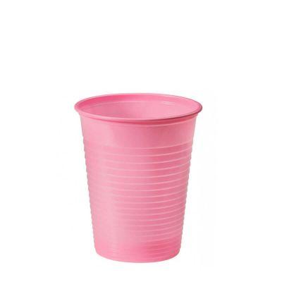 Bicchieri di plastica colorati DOpla Colors 200cc rosa