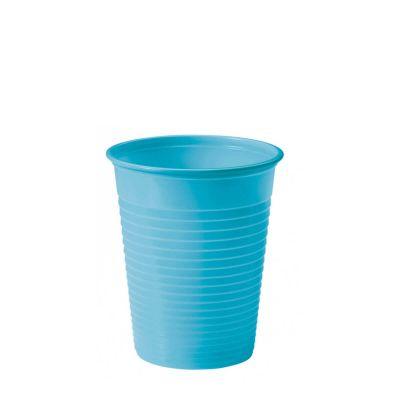 Bicchieri di plastica colorati DOpla Colors 200cc azzurro turchese