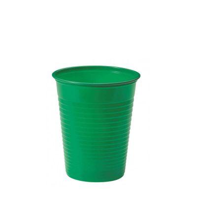 Bicchieri di plastica colorati DOpla Colors 200cc verde