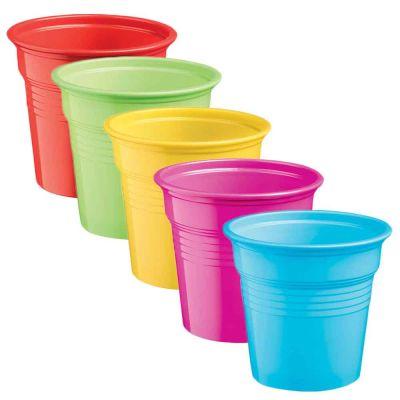 Bicchierini shot 80ml DOpla Colors in tanti colori vivaci