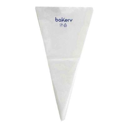 100 Sac à poche tasca da pasticcere trasparenti in rotolo Bakery 53 cm