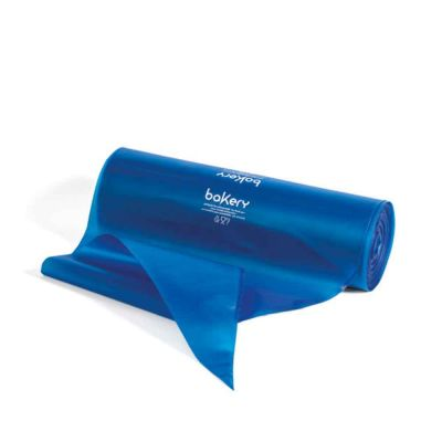 100 Sac à poche tasca da pasticcere blu in rotolo Bakery 46 cm
