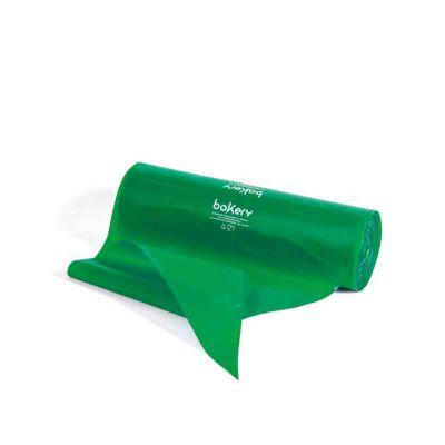 100 Sac à poche tasca da pasticcere verdi in rotolo Bakery 46 cm