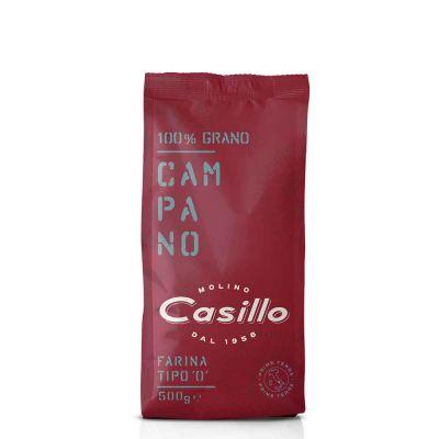 Farina campana di grano tenero tipo 0 W200 Casillo 500 g