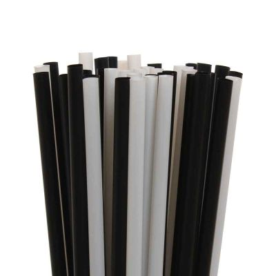Cannucce per cocktail in PLA compostabile 21 cm Ø6 mm