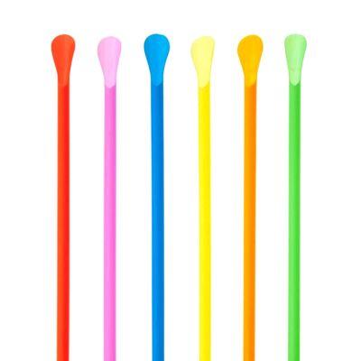 Cannucce a cucchiaio colorate