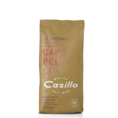 Farina di semola di grano duro Senatore Cappelli Casillo 500 g