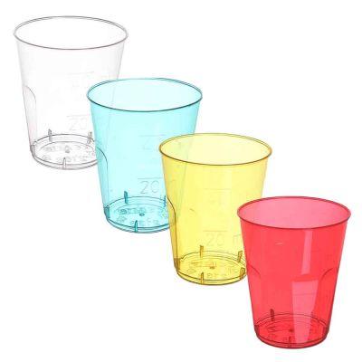 Bicchieri shot DOpla Chupito palette colori