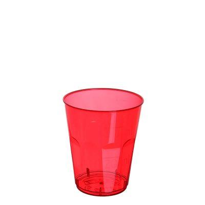Bicchieri da shot monouso di plastica rosso 50ml in offerta