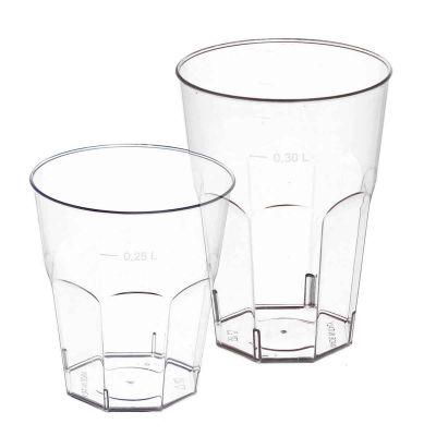 Bicchiere da cocktail polistirolo cristallo