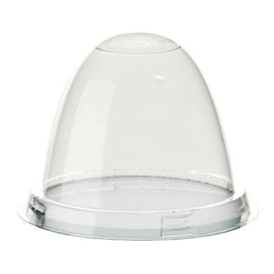 Coperchio bombato a cupola trasparente Poloplast Ø12 h9cm
