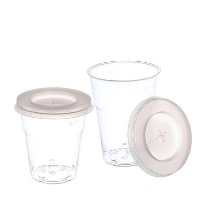 Bicchieri Cristal piccoli con coperchio foro croce