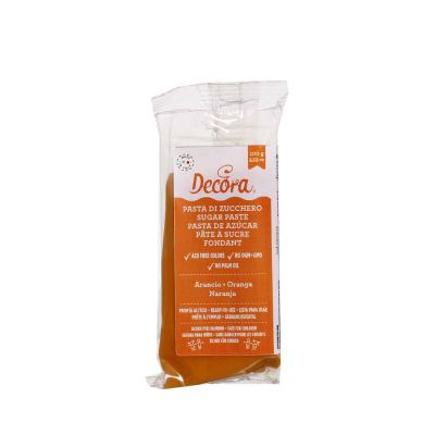 Pasta di zucchero arancio 100 g