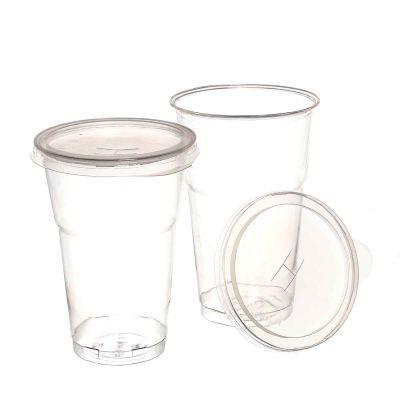 Bicchieri Cristal grandi con coperchio foro croce