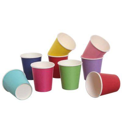 Bicchieri di cartoncino colorato da caffè DOpla Party 80 ml