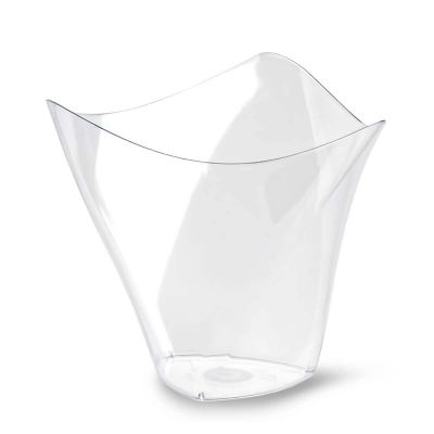 Bicchierini di plastica monoporzioni Poloplast Dorico trasparente
