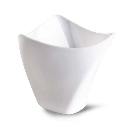 Bicchierini di plastica monoporzioni Poloplast Dorico bianco