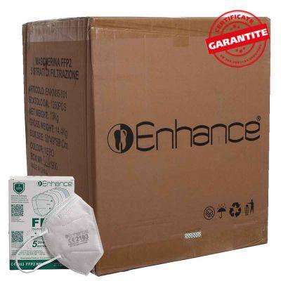 Cartone 1350 mascherine FFP2 Enhance bianche CE