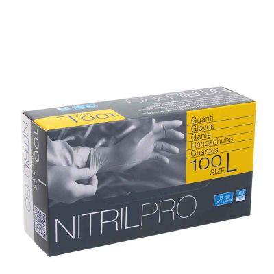 100 Guanti nitrile monouso Icoguanti Nitril Pro taglia L 8-8,5