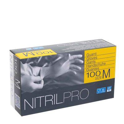 100 Guanti nitrile monouso Icoguanti Nitril Pro S taglia 6-6,5